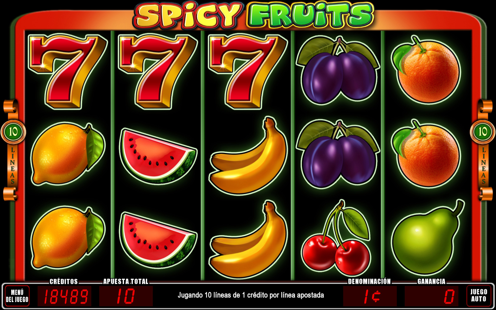 Spicy Fruit Games